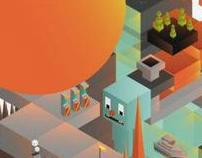 Ilustraciones para programa de videojuegos 4P.