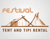 Tent and Tipi Rental - Branding and Website