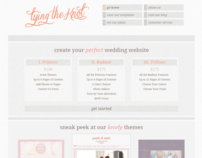 Tying the Knot Wedding Websites