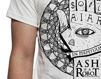 Ash is a Robot T-Shirts Artwork