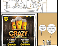 Raize the Bar Comic for Combo Offer
