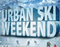 Urban Ski Weekend 2013 Flyer