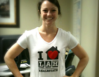 I ♥ LAH Real Estate Shirt Design