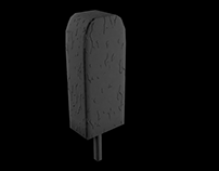 3d Chocolate Walls Ice Cream