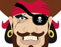 Pirate Face - Generator