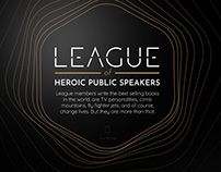 League of Heroic Public Speakers landing page