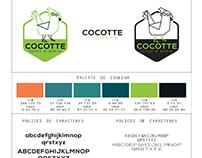Charte graphique espace Bureaux Co-working paris, Looly