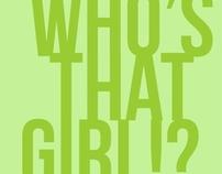 Capa para Facebook - Who's That Girl?