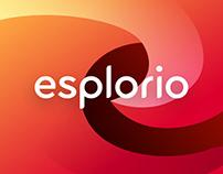Esplorio - Rebranding, UX/UI Design for iOS and Web