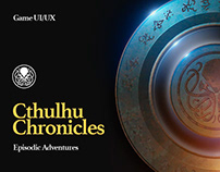 Cthulhu Chronicles - UI/UX Design