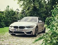 BMW M3 Manor - CGI