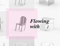 """Flowing with: """"7 days chair design challenge"""""""