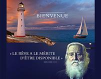 Web Design // Terre & mer crosière