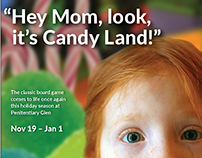 Candy Land Gone Wild Advertising