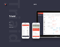 Triaid Transport Service Application