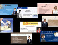 Email Banners for various businesses