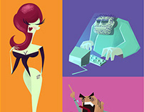 Animated project -Character design