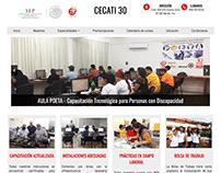Diseño de pagina web para escuela de capacitación.