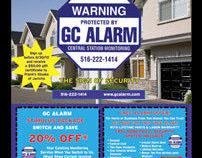 Security Alarm Flyer