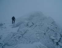 Cold Winter in Giant Mountains