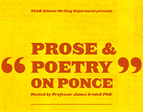 Prose & Poetry on Ponce Event Poster