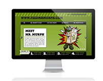 TRT | Feed Mr. Murph Website Design
