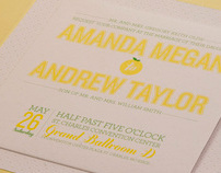 Amanda Olds + Andrew Smith Wedding Announcement