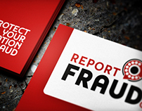 Report Fraud | Business Card