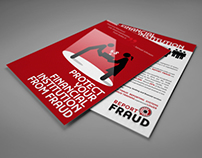 Financial Institution Sales Card for Report Fraud