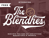 FREE | The Blendhes Typeface