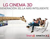 LG CINEMA 3D -  Impresión Digital