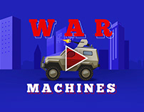 War Machines - motion video for my son
