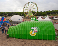 7up lounge tent
