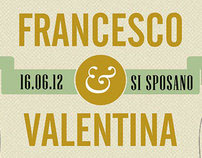 Valentina & Francesco's wedding