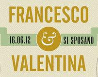 Valentina & Francesco's wedding