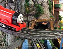 Diorama Display for Thomas Toys