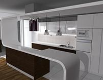 Kitchen Design 3D Visuelization