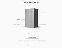 Ceramicnation Web UI Design