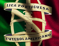 Liga Portuguesa de Futebol Americano Official Logo