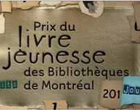 Prix du livre jeunesse des bibliothèques de Montréal