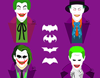 Evolution of JOKERS in Live action