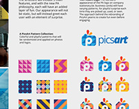 Picsart rebranding proposal