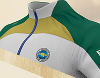 Official Uniform of Brazilian ITF Taekwon-do Team