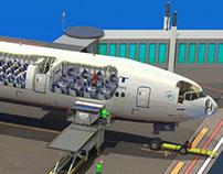 Boeing 777-300ER Cutaway Diagram