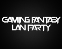 Gaming Fantasy Lan Party Poster