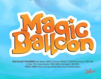 Magic Balloon iOS Game Art