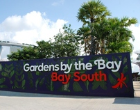 Gardens by the Bay Graphic Panels