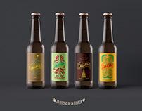 LAGASH branding cervecero