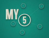 "North Church - ""My 5"" Series Graphics"