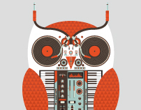 The Owl is a DJ